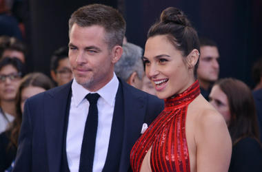 Chris Pine With Gal Gadot