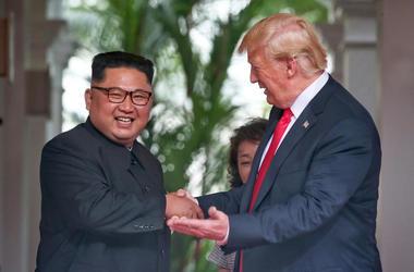 Donald Trump & Kim Jong Un