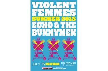 Violent Femmes and Echo & The Bunnymen