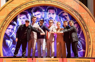 Cast of Avengers: Endgame