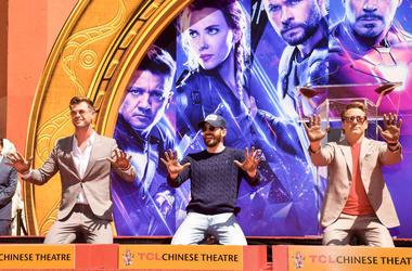 Chris Hemsworth, Chris Evans, Robert Downey Jr.