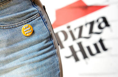 Jeans and Pizza Hut