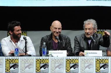Hugh Jackman, Sir Patrick Stewart & Sir Ian McKellen