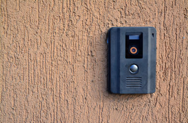Doorbell, Camera, Intercom, Wall