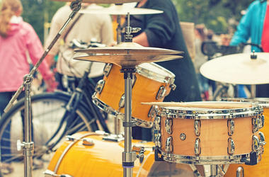 Drums on the street