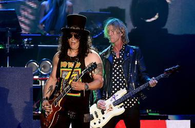 Slash and Duff McKagan