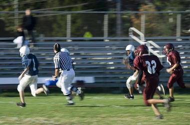 high school football game