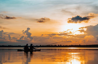 Couple Fishing