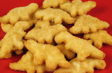 Dino Shaped Chicken Nuggets