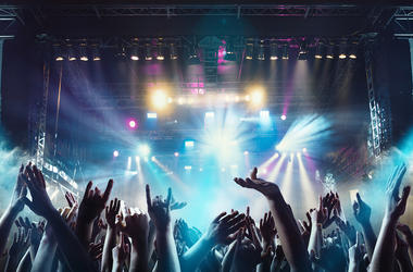 Rock Concert, Crowd, Music, Show, Stage, Lights