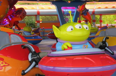 Toy Story Land Attractions