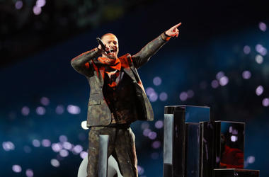 Justin Timberlake at Super Bowl LII Half Time Show