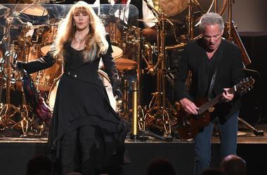 Stevie Nicks and Lindsey Buckingham