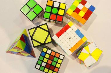 Rubik's Cube,Three,Juggling,Solve,Fastest,World Record,China,Video,12-Year-Old,Boy,100.3 Jack FM