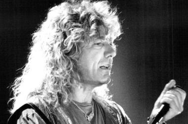 Robert Plant, Led Zeppelin, Concert, Microphone, 1988