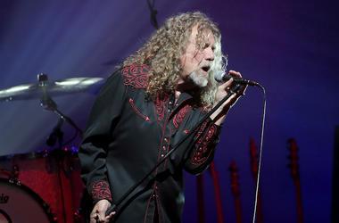Robert Plant, Singing, Concert, Murat Theatre, 2015