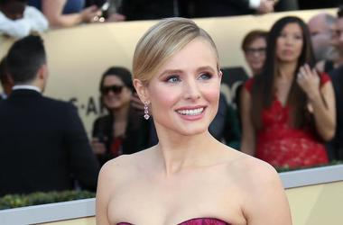 Kristen Bell, Smile, Dress, Red Carpet