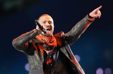 Justin Timberlake, Singing, Concert, Microphone