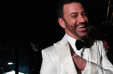 Jimmy Kimmel, Tux, Laughing, Smiling
