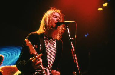 Kurt Cobain, Nirvana, Singing, Guitar