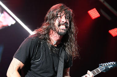 Dave Grohl, Foo Fighters, Sweaty, Hair, Smile, Concert, 2018