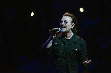 Bono, U2, Concert, Singing, Wells Fargo Center, 2018