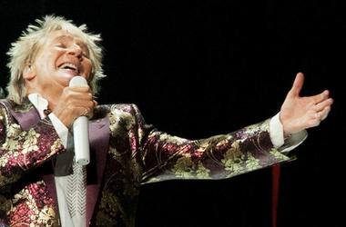 Rod Stewart, Concert, Singing, KFC Yum Center, 2018