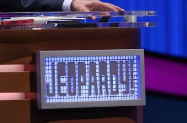 Jeopardy!, Podium, Desk, Logo