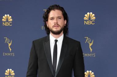 Kit Harrington, Red Carpet, Tuxedo, 70th Emmy Awards, 2018