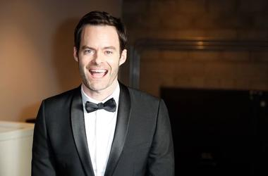 Bill Hader, Tuxedo, Smile, Emmy Awards, Back of House, 2018