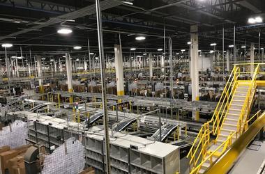 Amazon, Distribution, Fulfillment Center, Factory