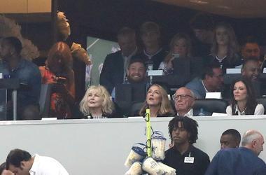 Conor McGregor At the Dallas Cowboys Game