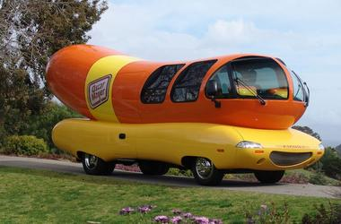 Oscar Meyer, Wienermobile, Field, Flowers, Majestic, 2004 Model, 2018