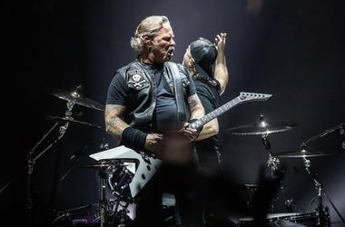 James Hetfield, Lars Ulrich, Metallica, Concert, WorldWired Tour, 2019