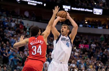 Dirk Nowitzki, Dallas Mavericks, New Orleans Pelicans, Jumpshot, Fadeaway, 2019