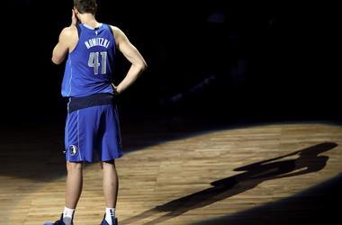 Dirk Nowitzki, Announces Retirement, AAC, Dallas Mavericks, Court, Uniform