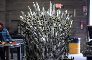 Game of Thrones, Iron Throne, Replica, Knight School of Welding, 2019