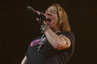 Axl Rose, Guns N Roses, Concert, Singing, 2016