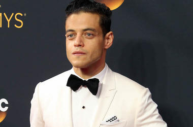 Rami Malek, White Tuxedo, Red Carpet