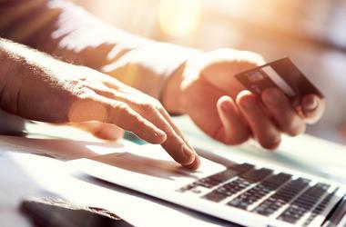 Credit Card, Laptop, Online Shopping