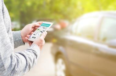 Uber, App, Ride Share, Phone