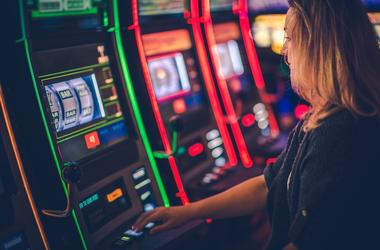 Casino, Slot Machine, Woman
