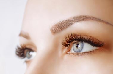 Woman, Eyes, Blue, Eyelash Extensions