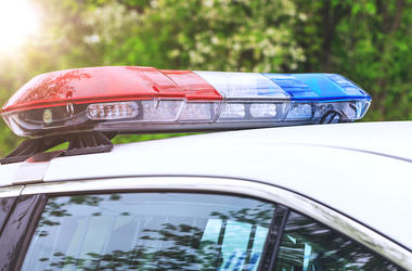 Police, Patrol Car, Sirens, Red, Blue, Lights