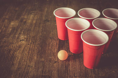 Beer Pong, Red Solo Cups, Party