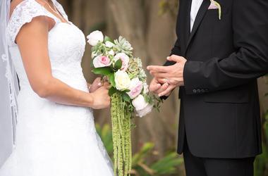 Wedding Ceremony, Bride, Groom