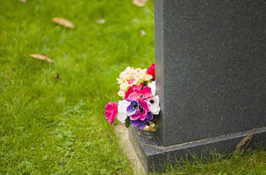 Flowers, Grave, Cemetary, Tombstone