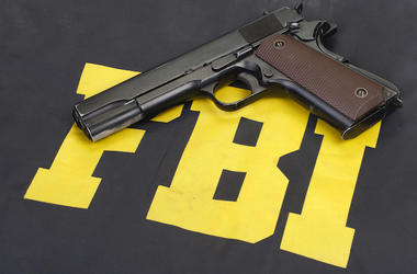 FBI, Logo, Uniform, Gun