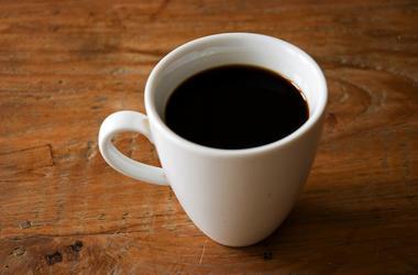 Black Coffee, Mug, Table, Coffee