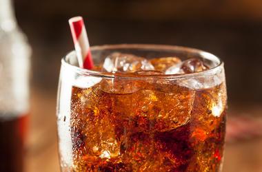 Coke, Cola, Soda Pop, Glass, Bubbly, Straw